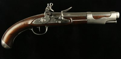 Model 1763/66 Revolutionary Manufactured Flintlock Pistol