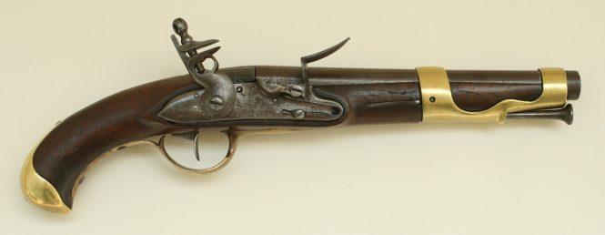 Le pistolet de cavalerie modele 1763/66