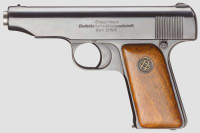 Пистолет Ортгис четвертой разновидности