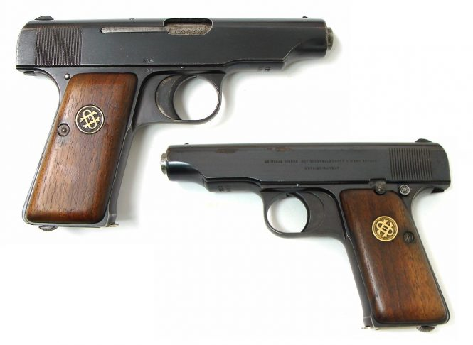 Ortgies pistol Fifth Variant