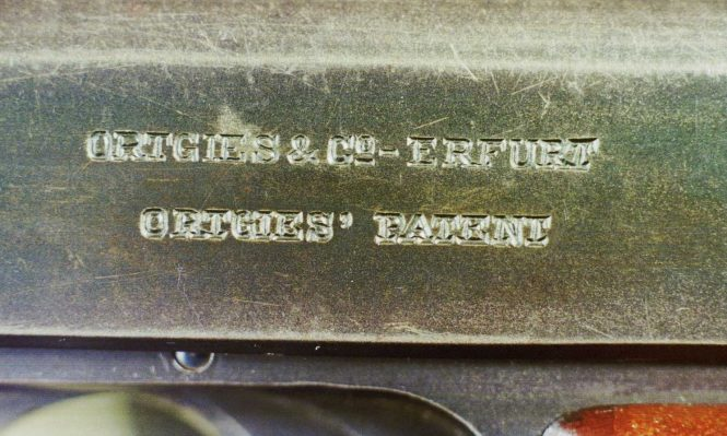 Ortgies pistol First Variant