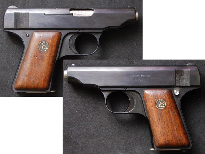 Ortgies pistol Sixth Variant
