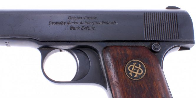 Ortgies pistol Fourth Variant