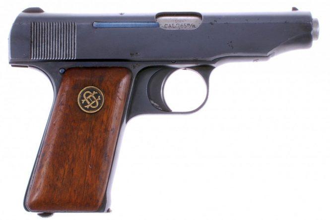 Ortgies pistol Fourth Variant