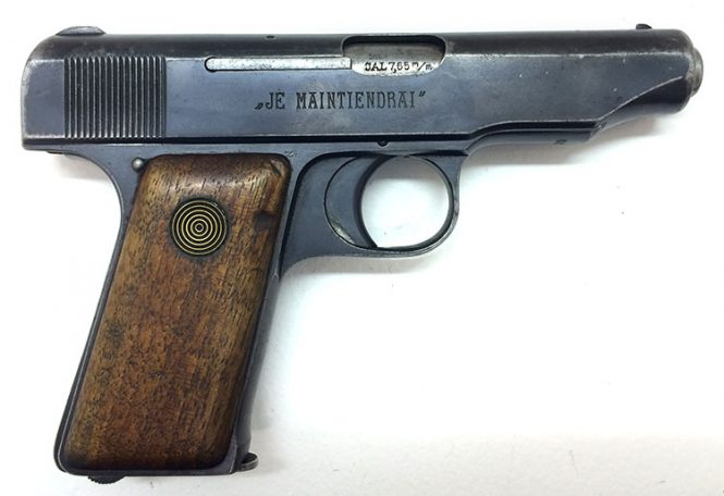 Dutch Government contract Ortgies pistol