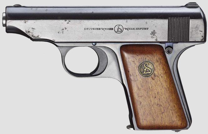 Ortgies pistol Sixth Variant 6,35