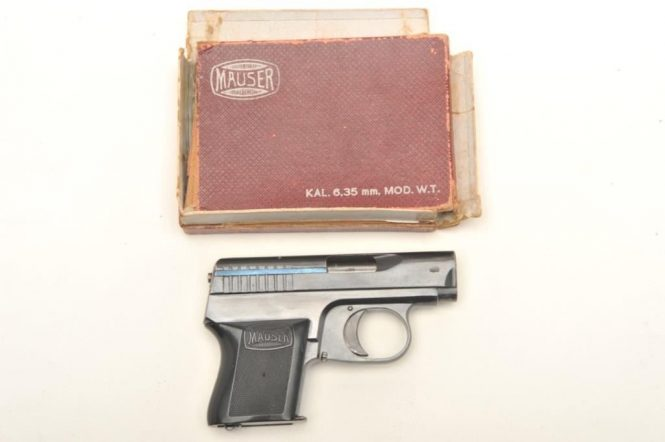 Mauser WTP 1 with Factory box