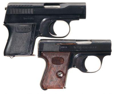 Mauser's Vest Pocket Pistol - Westen Taschen Pistole