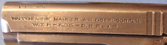 Mauser WTP I Early