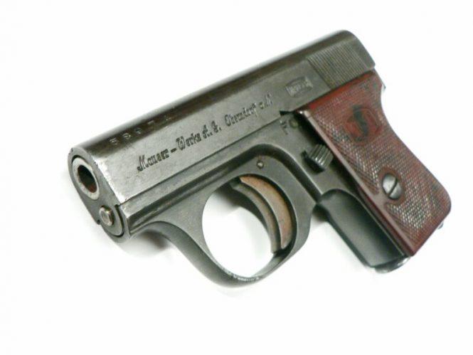 Mauser Vest Pocket Pistol WTP II