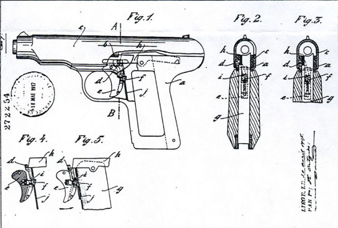Ortgies pistol magazine safety mechanism