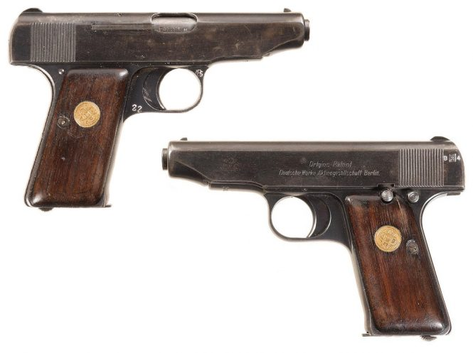 Ortgies pistol 0.38