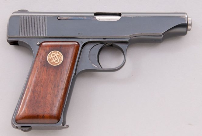 Ortgies pistol Second Variant