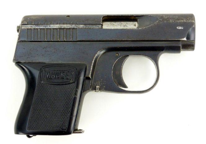 Пистолет Маузер ВТП1