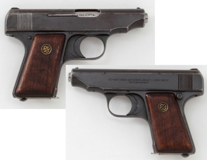 Ortgies pistol Fifth Variant 6,35