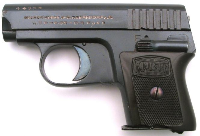 Mauser Vest Pocket Pistol WTP I