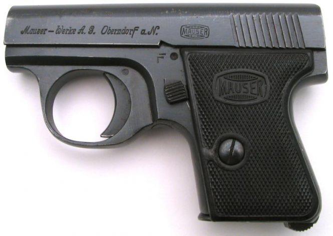 Mauser Westen Taschen Pistole II