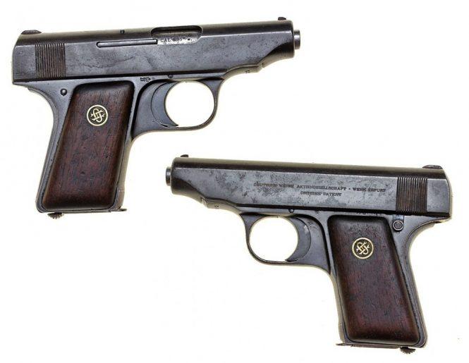 Ortgies pistol 0.25 ACP