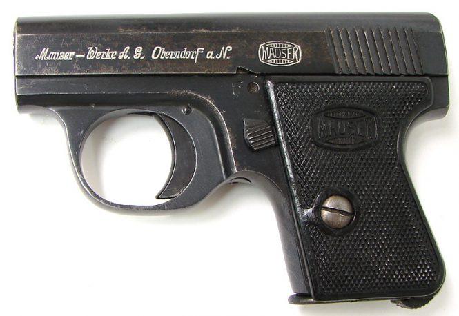Пистолет Маузер ВТП2