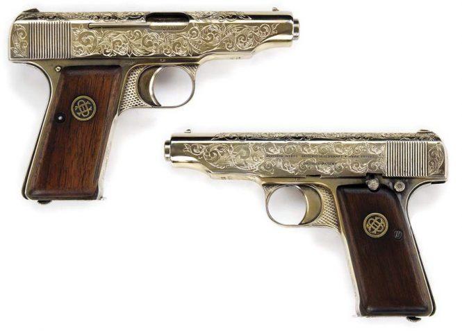 Ortgies pistol Engraved