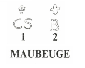 Marking of pistols M 1763/66 Manufacture de Maubeuge
