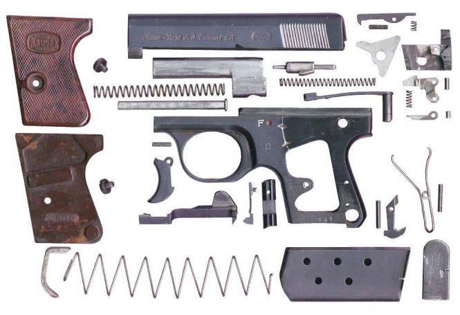 Westen Taschen Pistole 2