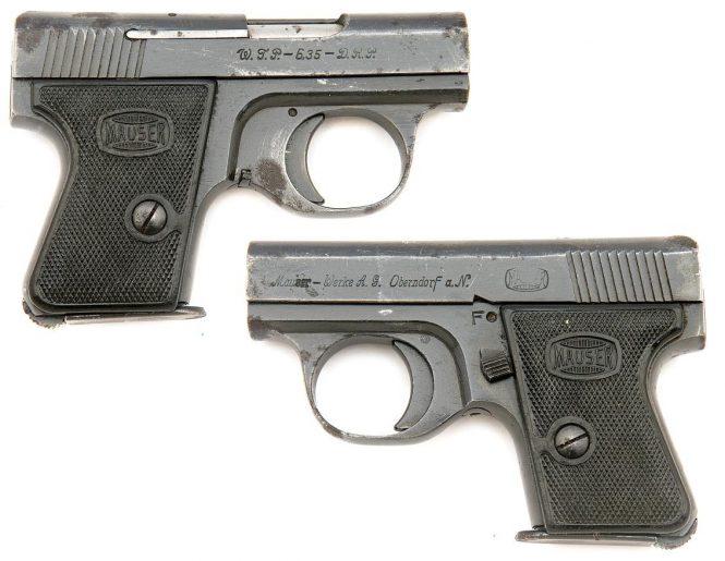 Пистолет Mauser WTP2