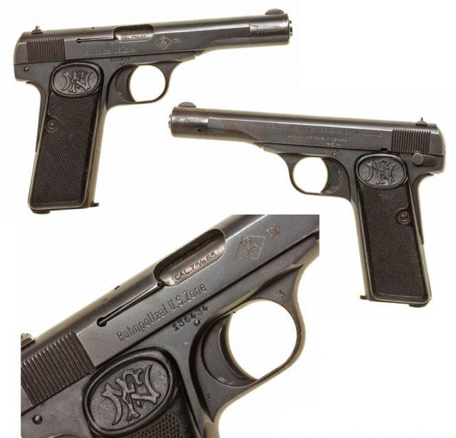 Пистолет Browning 1922 FN