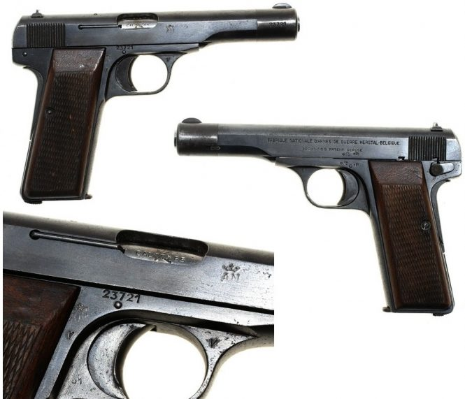 FN Browning Modell 1922 Pistol