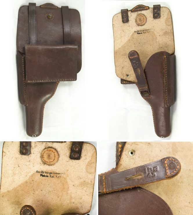 Holster FN Browning Model 1922 pistol P.626(b), P641(b)