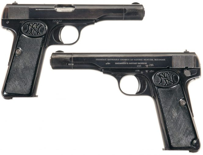 FN Browning Modell 1922 Pistol nazi production 2nd Variation, WaA613