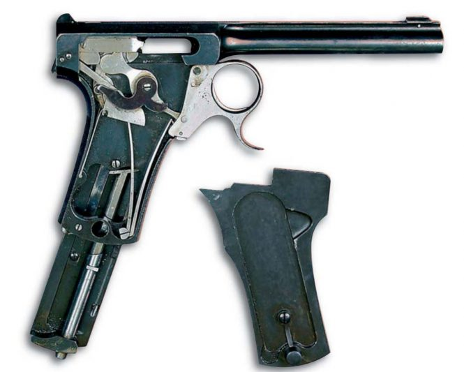 Francotte manual repeating pistol