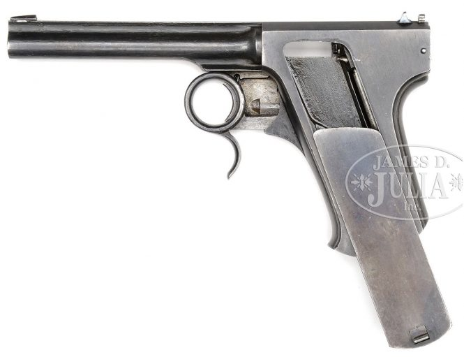 Francotte repeating pistol