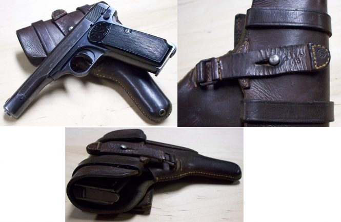 FN Browning M1922 - P.626(b), P641(b) holster