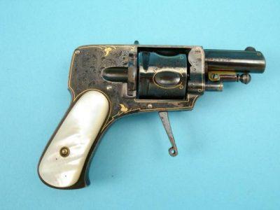 Velo-dog revolver А. Francotte
