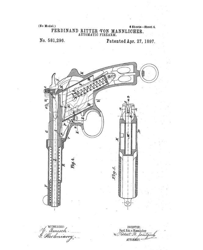 Patent Mannlicher M1894