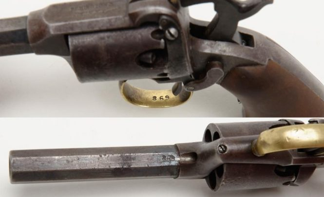 Remington-Beals 1st Model Pocket revolver, Issue 3