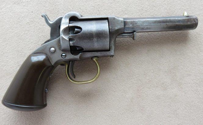 Капсюльный карманный револьвер Ремингтон-Билз 1 модель