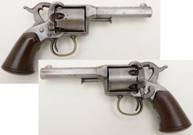 Remington-Beals 1st Model Pocket revolver, Issue 1