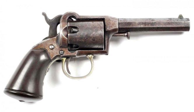 Remington-Beals 1st Model Pocket revolver, Issue 4