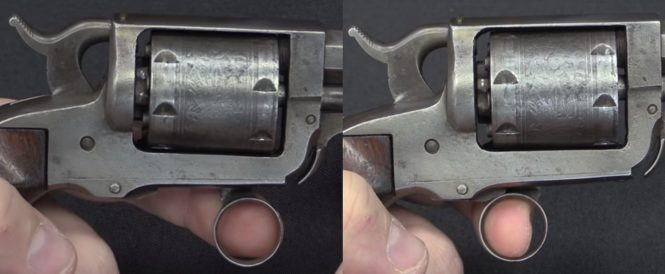 """Walking Beam"" Pocket Revolver"