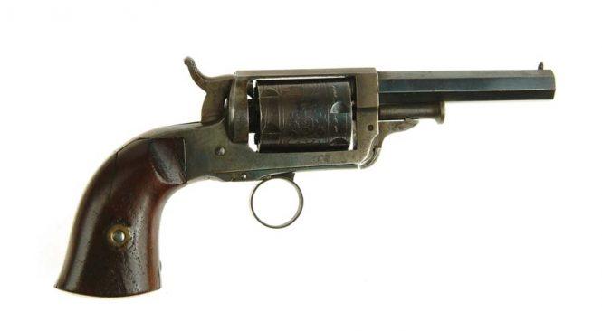 Whitney-Beals patent pocket revolver .28 caliber
