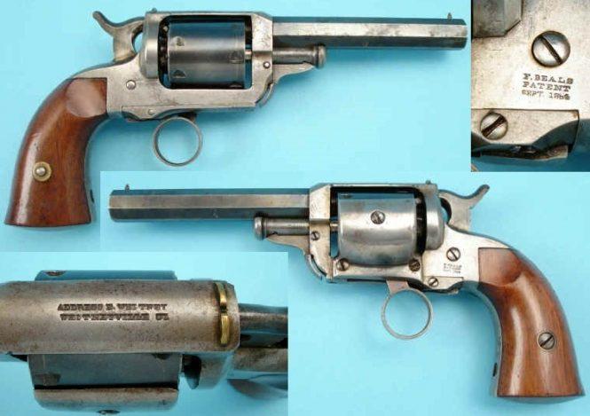 Whitney-Beals patent pocket revolver