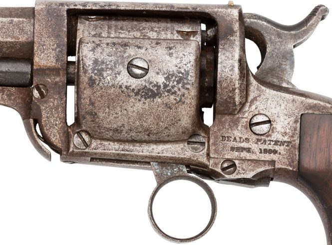 Whitney-Beals patent pocket revolver .31 caliber