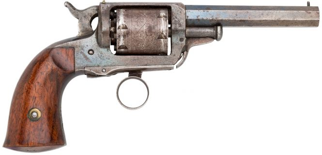 Карманный капсюльный револьвер Уитни-Билз (кликните по изображению, чтобы увидеть фото полного размера)