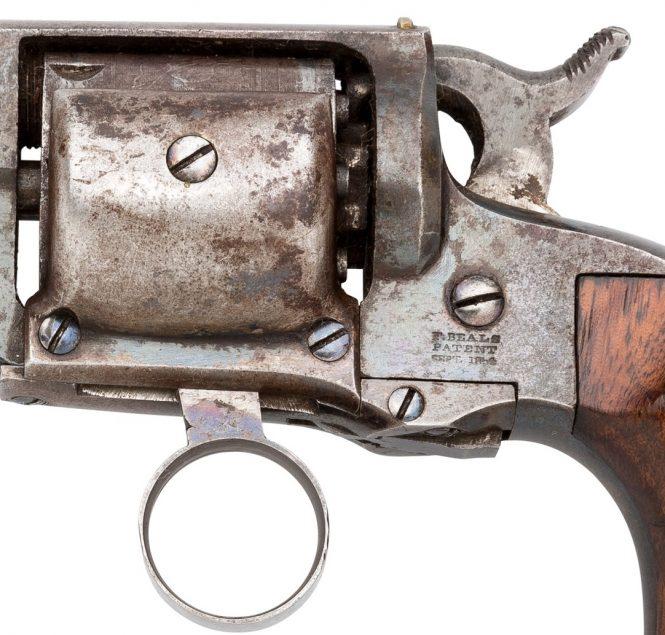 Whitney-Beals patent pocket revolver .31