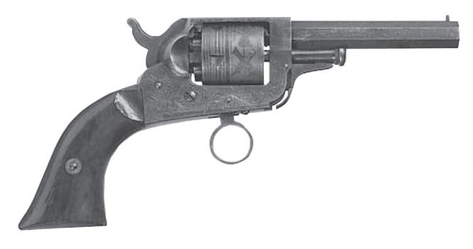 Whitney Ring Trigger Pocket Revolver