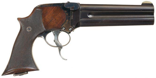 Charles Lancaster Howdah Pistol