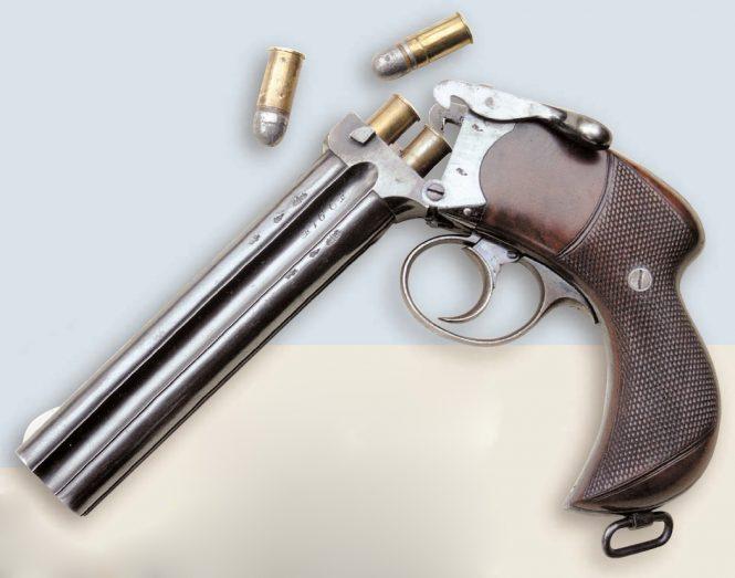 Henry Alfred Alexander Thorn Patent Pistol