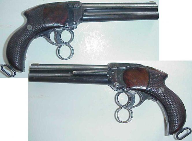 Charles Lancaster Howdah Pistols